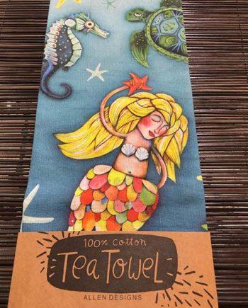 Under The Sea Tea Towel