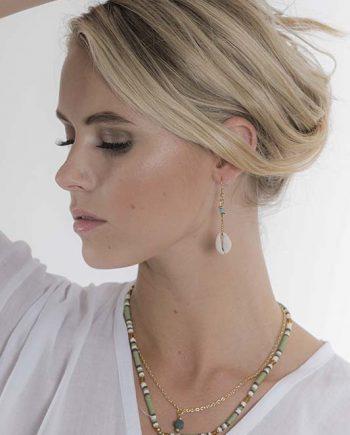 Shell Cowrie Earrings