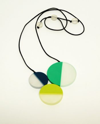 Triple Resin Necklace