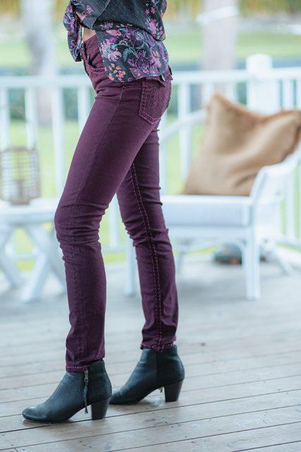 Chelsea Jeans Plum