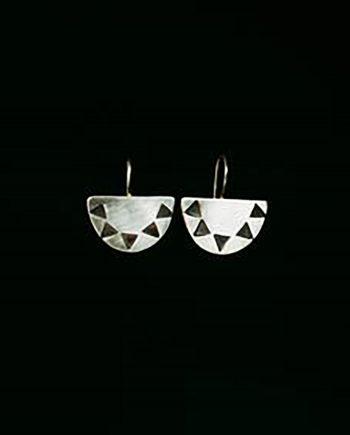 setting sun earrings