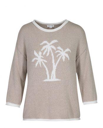 Palm tree sweater