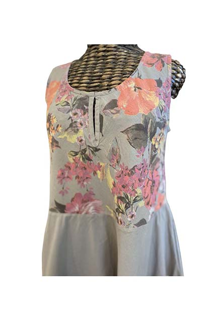 sleeveless tier dress