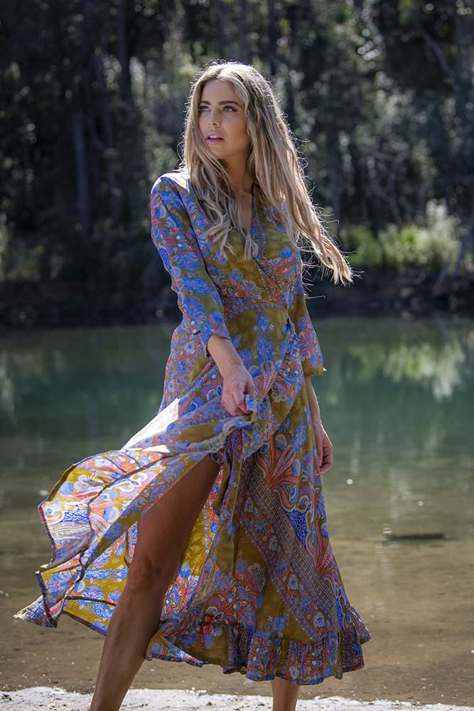 Ciara Dress Olive