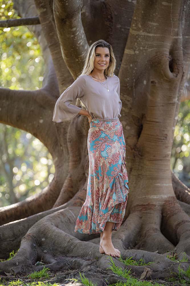 Mahala Wrap Skirt